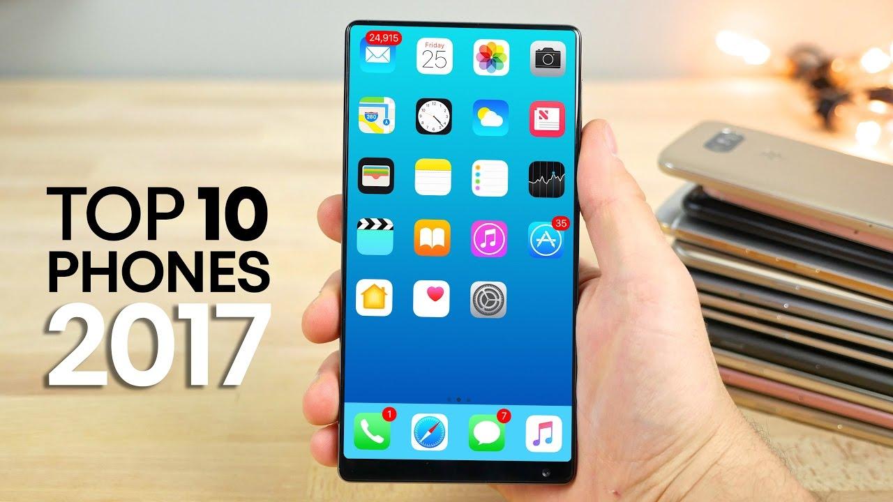 TOP 10 phones 2017